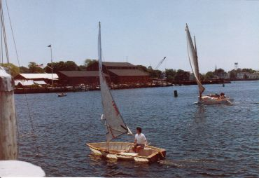 Small Car Top Sailboat